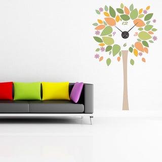 Tree Wall Clock Vinyl Decor Wall Art