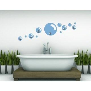 Bubbles Wall Hanger Decal Vinyl Art Home Decor