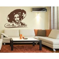 Marlene Dietrich Wall Decal Vinyl Art Home Decor