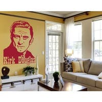 Kirk Douglas Wall Decal Vinyl Art Home Decor