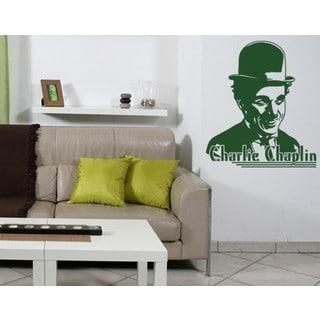 Charlie Chaplin Wall Decal Vinyl Art Home Decor