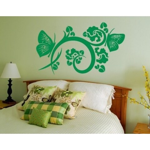 Flying Flower Wall Decal