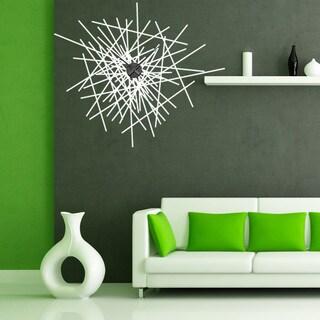 Abstract Wall Clock Vinyl Decor Wall Art
