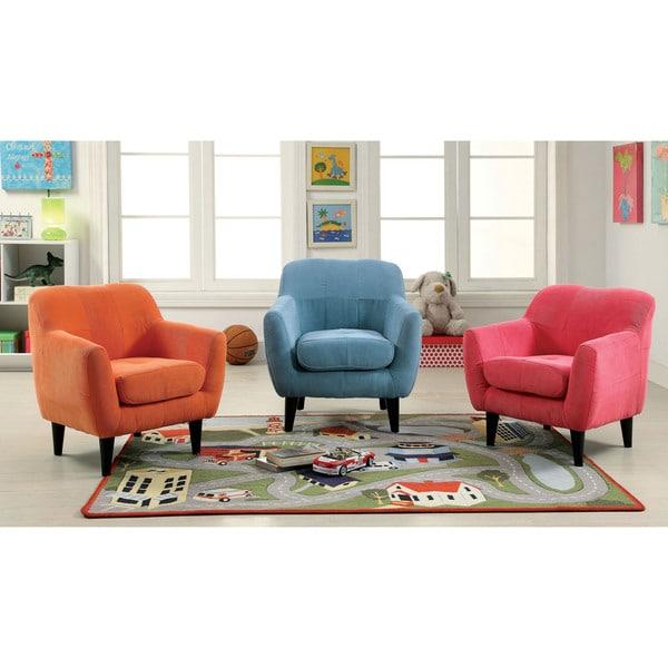 Furniture Of America Lara Contemporary Flannelette Scoop