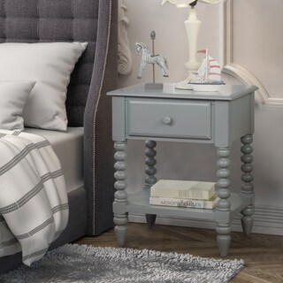 Furniture of America Alma Transitional Style 1-drawer Youth Nightstand (3 options available)