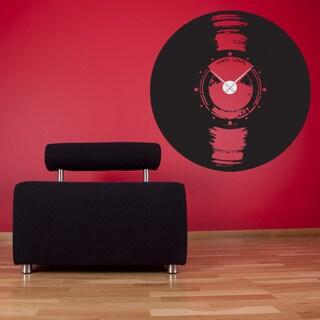 Vinyl Love Wall Clock Vinyl Decor Wall Art