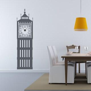 Big Ben Wall Clock Vinyl Decor Wall Art
