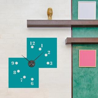 Missing Numbers Wall Clock Vinyl Decor Wall Art