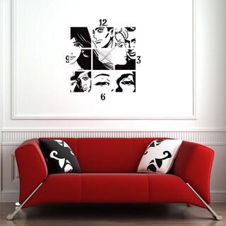 Comic Wall Clock Vinyl Decor Wall Art