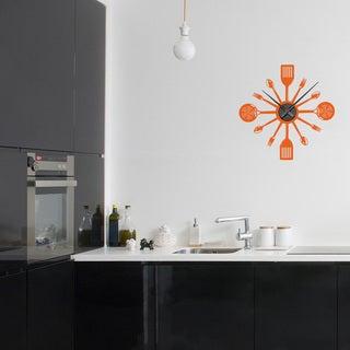 Cooking Time Wall Clock Vinyl Decor Wall Art