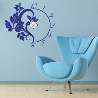 Branch Wall Clock Vinyl Decor Wall Art