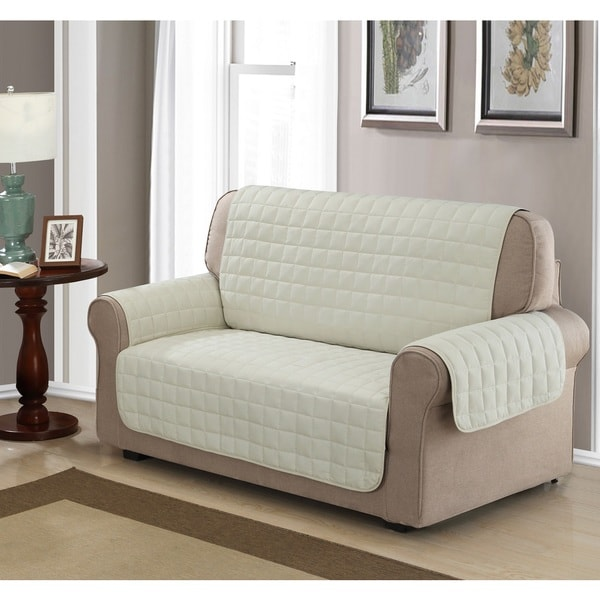 Chic Home Jonathan Box Quilted Quick Draped Ivory Loveseat  : Chic Home Jonathan Box Quilted Quick Draped Ivory Loveseat Cover 14c95c48 40de 4c0c 9f76 7d36cff4b8c1600 from www.overstock.com size 600 x 600 jpeg 54kB