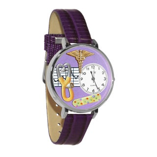 Nurse 2 Purple Watch in Gold (2 options available)