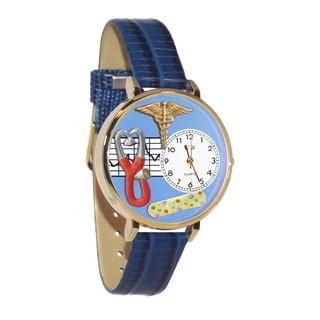 Nurse 2 Blue Watch in Gold