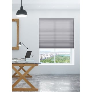 Link to Arlo Blinds Grey Light Filtering Cordless Cellular Shades Similar Items in Window Treatments