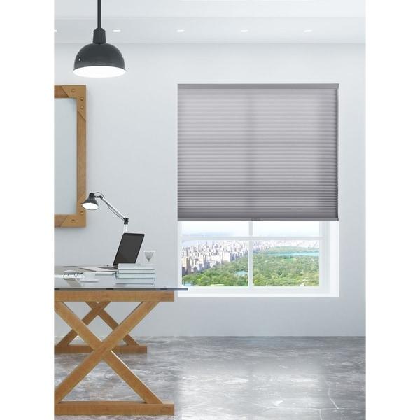 Shop Arlo Blinds Grey Light Filtering Cordless Lift