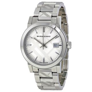 Burberry Women's BU9144 'The City Check' Stainless Steel Watch