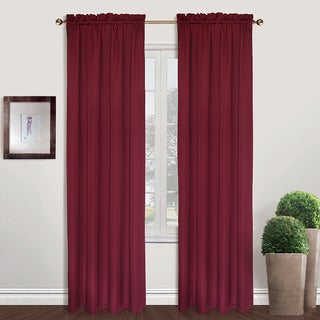 Sterling Wide Width Woven Curtain Panel Pair