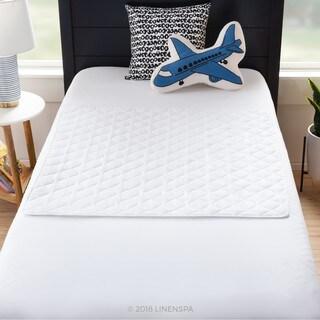 LINENSPA Waterproof Sheet and Mattress Protector Pad