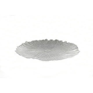 Brilliant Coral Clear Platter