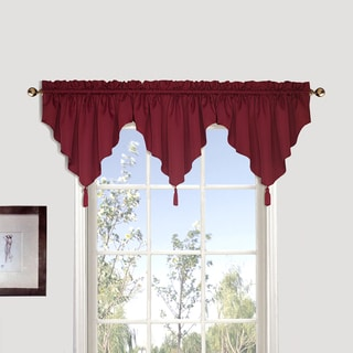 Luxury Collection Sterling Coordinating Woven Ascot Valance