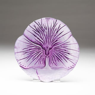 Pansy Purple Two-tone Side Plate
