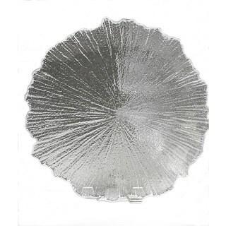 Brilliant Coral Clear Plate