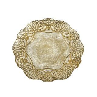 Geneve Gold Dinner Plate