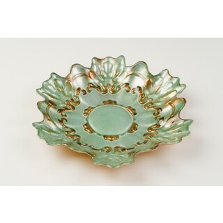 Lace Gold/ Turquoise Plate