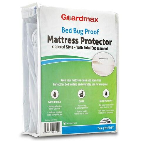 Guardmax Zippered Bedbug Proof/ Waterproof Mattress Protector Cover - Green