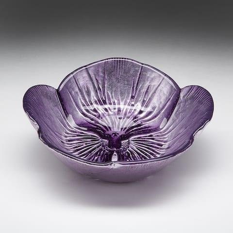 Pansy Two-tone Purple Bowl