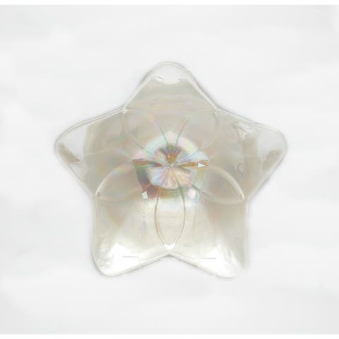 Poppy White with Luster Bowl