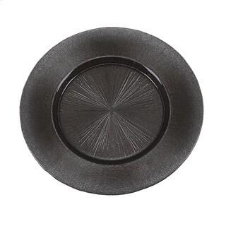 Ritz Dark Grey Glitter Charger Plate|https://ak1.ostkcdn.com/images/products/11546595/P18491767.jpg?_ostk_perf_=percv&impolicy=medium