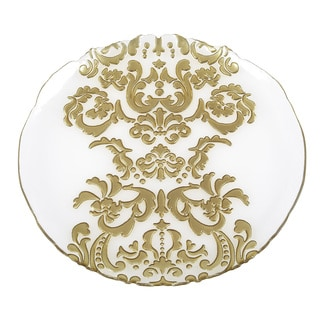 Damask Charger Plate