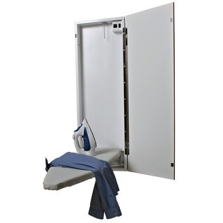 Handi-Press Flat White Electric Ironing Center
