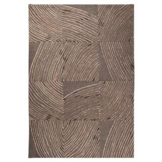 M.A. Trading Hand-tufted Indo Mondo Grey Rug (5'2 x 7'6)