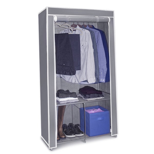 Wardrobe Stackable and Detachable Closet Organizer with Cover