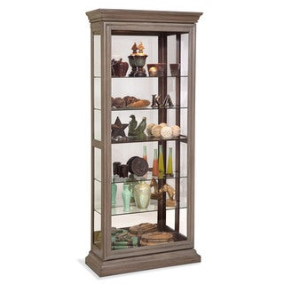 Philip Reinisch Co. Lighthouse Destiny II Two Way Sliding Door Curio Cabinet