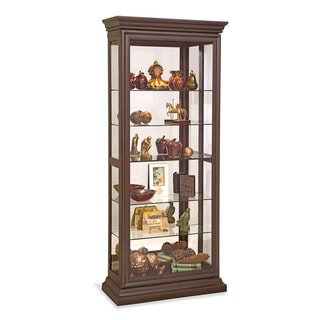 Philip Reinisch Co. Lighthouse Destiny I Two Way Sliding Door Curio Cabinet