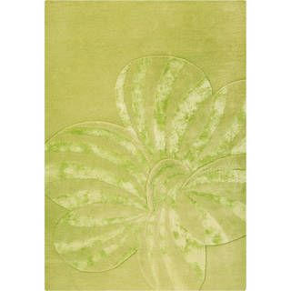 M.A. Trading Hand-tufted Indo Jasmine Sage Rug (5'6 x 7'10)