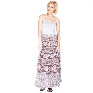 An Elephant's Spring Summer Wrap Skirt (India)