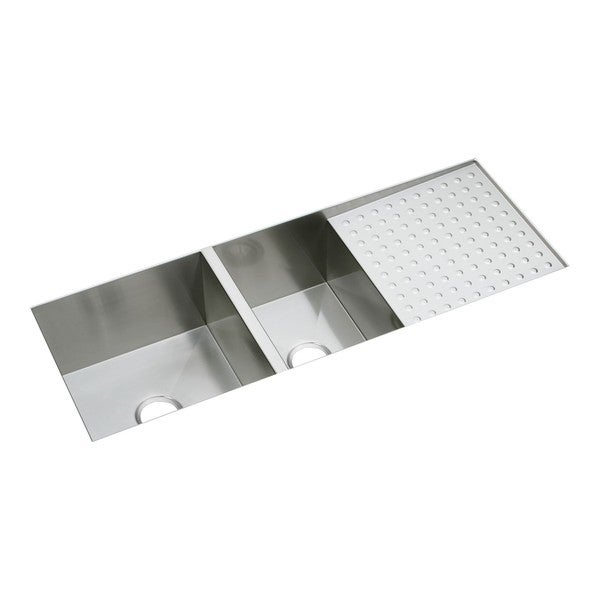 Elkay Avado Undermount Steel EFU471810DB Polished Satin Kitchen Sink