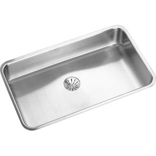 Elkay Gourmet Undermount Steel ELUHAD281645PD Stainless Steel Kitchen Sink