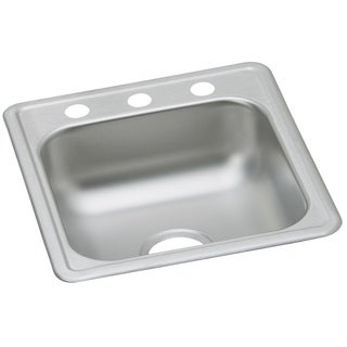 Elkay Dayton Drop In Steel D117191 Stainless Steel Kitchen Sink