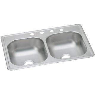 Elkay Dayton Drop In Steel DSE23319MR2 Satin Kitchen Sink