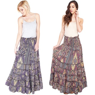 Summer Jungle Gyspy Skirt (India)