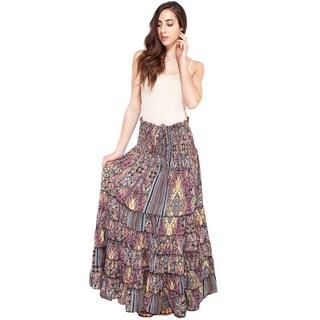 Summer Jungle Gyspy Skirt (India)