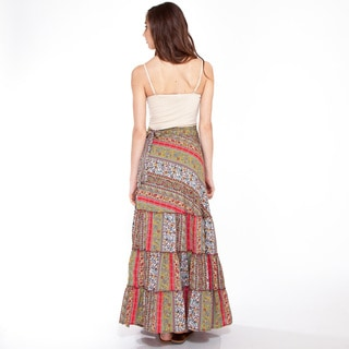 Paisely Maxi Wrap Skirt (India)