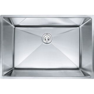 Franke Planar 8 Undermount Steel PEX110-28 Stainless Steel Kitchen Sink