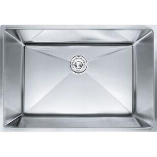 Franke Planar 8 Undermount Steel PEX110-28 Stainless Steel Kitchen Sink